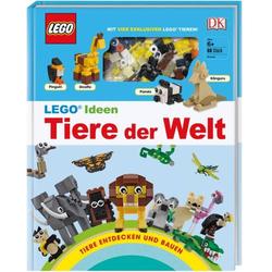 LEGO Ideen Tiere der Welt ISBN-Nr.=978-3-8310-3594-6 Seitenanzahl: 80 Seiten