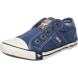 Kinder Slipper blau Gr. 38