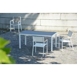 Jan Kurtz Quadrat Serie - Tisch mit Keramikplatte