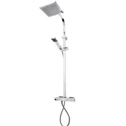 ADOB Duschsystem Saragossa, Höhe 110 cm, mit Thermostat
