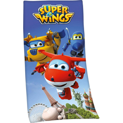 Badetuch Super Wings (1-St), mit Super Wings Motiv