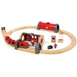 BRIO® Spielzeug-Eisenbahn BRIO® WORLD Metro Bahn Set, (Set)