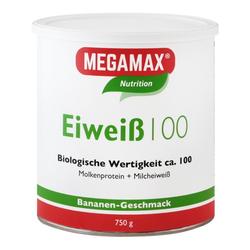 EIWEISS 100 Banane Megamax Pulver 750 g
