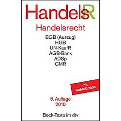 Handelsrecht (HandelsR) - Buch