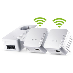 DEVOLO (500Mbit, 3er Kit, Powerline + WLAN, 1xLAN) LAN-Router