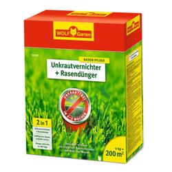 Unkrautvernichter + Rasendünger SQ 200 | 4kg