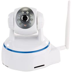 Dreh- & schwenkbare Indoor-IP-Kamera, Full HD, WLAN, SD-Aufnahme & App