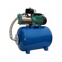 Wasserpumpe 1,1kW 95l/min 24-80 Speicher Jetpumpe Gartenpumpe Hauswasserwerk | Druckbehälter: 50 L