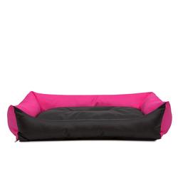 Hobbydog Tierbett Hundebett Eco rosa 75 cm x 105 cm