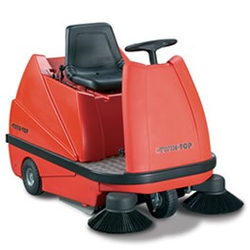 Stolzenberg TwinTop TTE 1100 Aufsitzkehrmaschine
