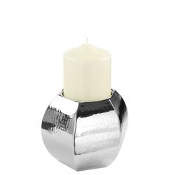 Kerzenhalter PIADA gehämmert (DH 13x13 cm)