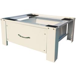 RESPEKTA Untergestell Waschmaschinen Untergestell, mit Schublade weiß
