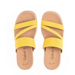 Gabor Gabor Damen Pantolette 43.702.83 gelb Clog 38