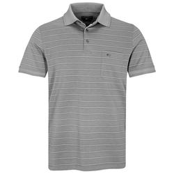 COMMANDER Poloshirt Kurzarm-Poloshirt grau 3XL