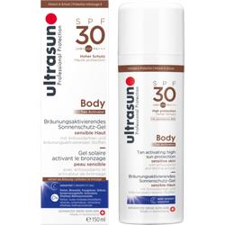 ULTRASUN Body Tan Activator Gel SPF 30 150 ml
