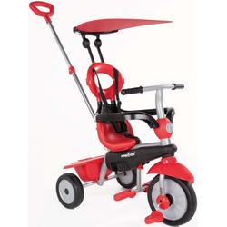 smarTrike® Dreirad Zoom, Rot, mit Sonnenschutzdach