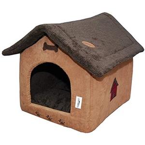 Drybed Gr. Hundehütte Hundehaus Hundehöhle Körbchen Kissen 773