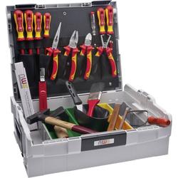 NWS Werkzeugset Elektriker Werkzeugkoffer Sortimo L-Boxx 23tlg.