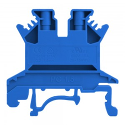 Reihenklemme 1.5mm2 Schraubklemme Blau VDE UL 5699