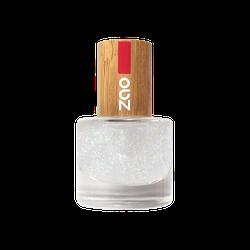 Zao - Bambus Nagellack - Nr. 665 / Top Coat Glitter - 8 ml
