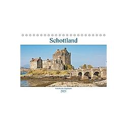 Schottland - Schottische Highlands (Tischkalender 2021 DIN A5 quer)