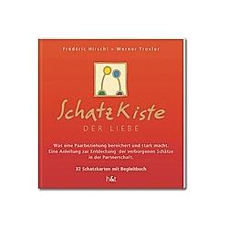 SchatzKiste der Liebe, Schatzkarten u. Buch