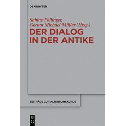 Der Dialog in der Antike als Buch von