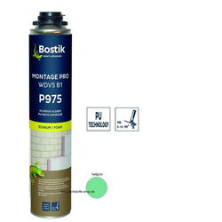 Bostik Montage Pro WDVS B1 P975 1K PU Schaum 750ml NBS Dose hellgrün