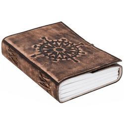 Gusti Leder Notizbuch Sola, Buch Tagebuch Reisetagebuch DIN A5