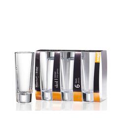 Ritzenhoff & Breker Schnapsglas SKOL Stamper Schnapsglas 6er Set, Glas