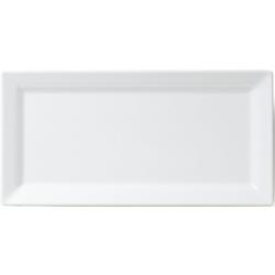 Q Squared NYC Servierplatte Melamin Servierplatte, Melamin, (1-tlg., 1 x Servierplatte) 17,5 cm x 36 cm x 2,8 cm