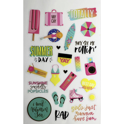 Glorex Sticker-Buch Summer Fun