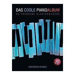 Das coole Pianoalbum  m. MP3-CD. Hans-Gunter Heumann  - Buch