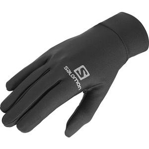 Salomon Unisex Leichte Lauf-Handschuhe, Touchscreen kompatibel, AGILE GLOVE U, Schwarz, Gr. XS, L39014400