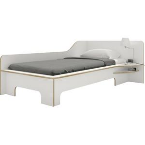 Müller Einzelbett »PLANE«, weiß