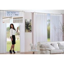 Vorhang, Bonilo, Faltenband, 1;2,5 1er Faltenband 250 cm x 175 cm