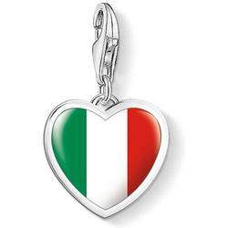 Thomas Sabo Herz Flagge Italien 1408-603-7 Charm Anhänger