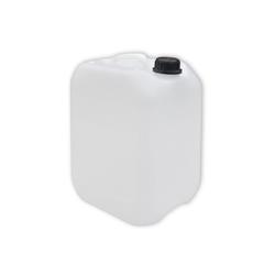 Plasteo Kanister 10 Liter Kanister DIN45 Transparent inkl. Deckel, mit Deckel, lebensmittelecht