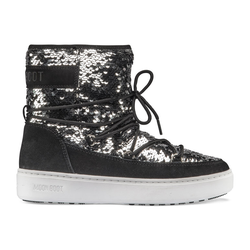 Moon Boots Pulse Mid Disco - Moon Boots - Damen Black 39 EUR