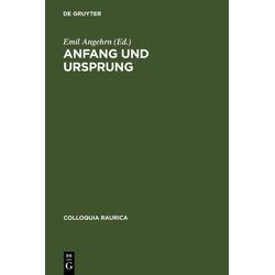 Anfang und Ursprung als Buch von