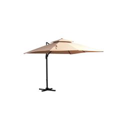 Outsunny Sonnenschirm Sonnenschirm mit verstellbarem Neigungswinkel