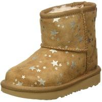 UGG Australia UGG Jungen Mädchen Mini II Sterne Klassische Stiefel, Kastanie, 31