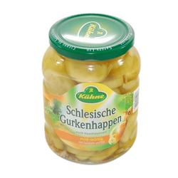 Kühne Schlesische Gurkenhappen nach Hausfrauenart würzig 720 ml