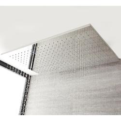 XXL Decken-Duschkopf 80x50cm Edelstahl Unterputz Kubix Regendusche, von Hudson Reed