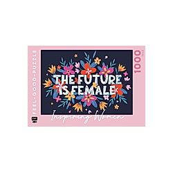 Feel-good-Puzzle 1000 Teile - INSPIRING WOMEN: The Future is female