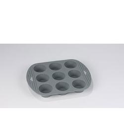 Funktion Muffinform x9 Silikon Grau