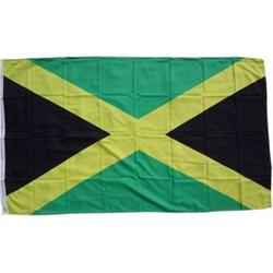 XXL Flagge Jamaika 250 x 150 cm Fahne mit 3 Ösen 100g/m² Stoffgewicht