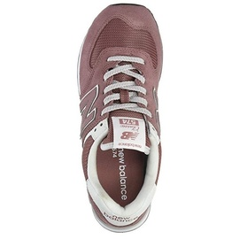 NEW BALANCE WL574 dark rose-white/ white, 37.5