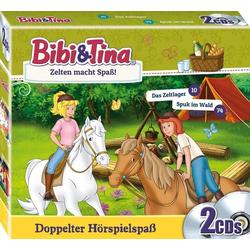 Bibi und Tina 2er-CD Zelten macht Spaß!