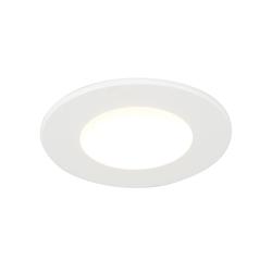 Einbauspot weiß inkl. LED 350 Lumen 3000K 5W IP65 - Blanca